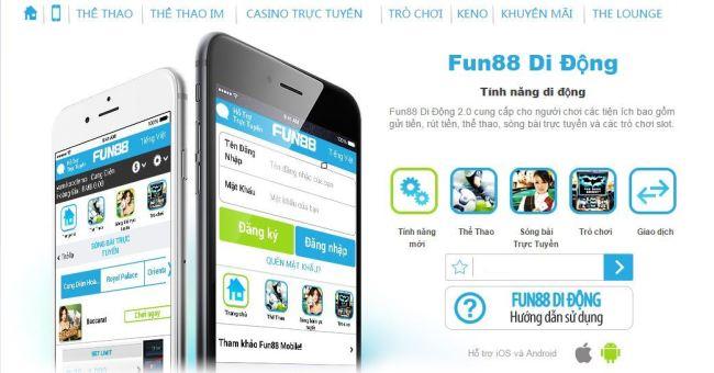 Tải ứng dụng Fun88 mobile nâng tầm cá cược online
